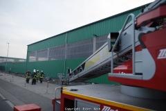 Brand Lagerhalle AGR-DAR