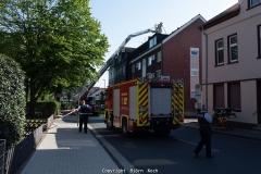 Brandeinsatz Hannoverstraße